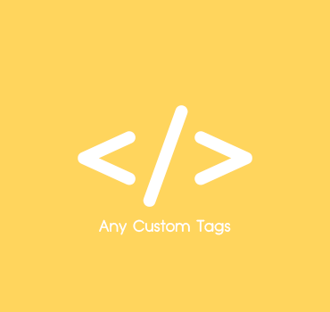 Add Any Number Of Custom Tags